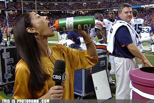 best of week,camerawoman,cbs,creepy sneakers,football,mmm,news,sports,water