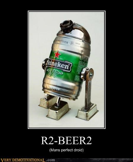 beer droid Pure Awesome r2d2 - 5211764224