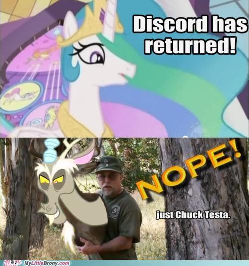 Chuck Testa discord meme princess celestia season 2 - 5212420608