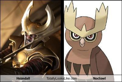 funny Heimdall noctowl Pokémon TLL - 5212738560