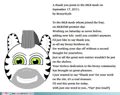 20 Percent Cooler awesome brohoof brony4lyfe mod loves bronies mods poem thanks zecora - 5212931072