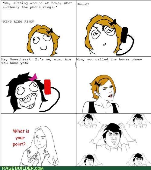 best of week dumb mom phone Rage Comics - 5213479936