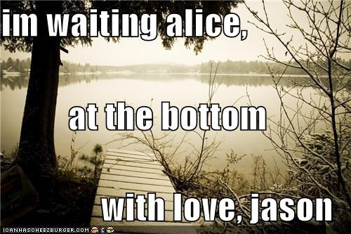 im waiting alice, at the bottom with love, jason