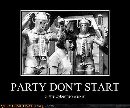 cybermen,old movies,Party,Pure Awesome