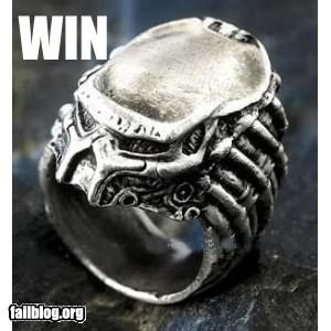Predator Ring Win