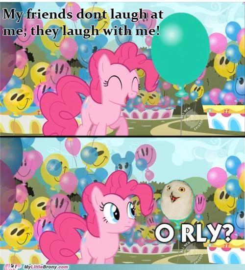 meme,o rly,Owl,pinkie pie,skeptic pie