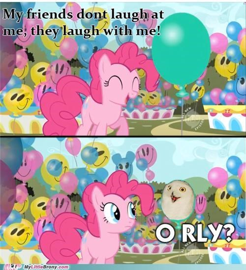 meme o rly Owl pinkie pie skeptic pie - 5214784768