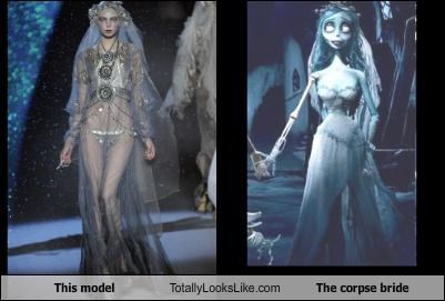 animated animation clothing corpse bride fashion model Movie