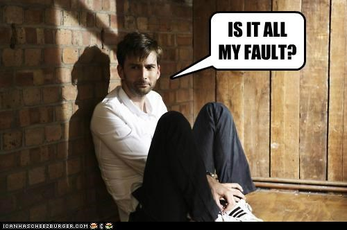 IS IT ALL MY FAULT?