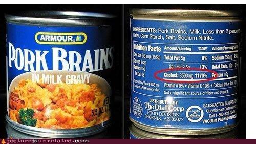 brain eww fattening wtf - 5216003328