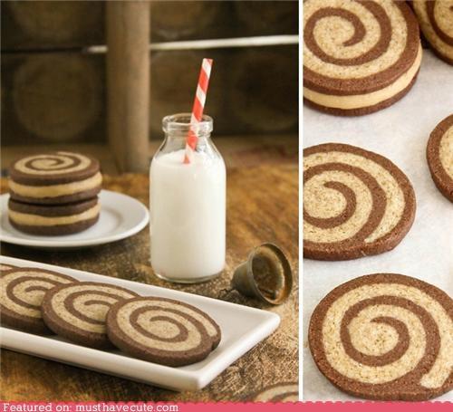 bottle cookies epicute milk mocha straw swirl - 5216731648
