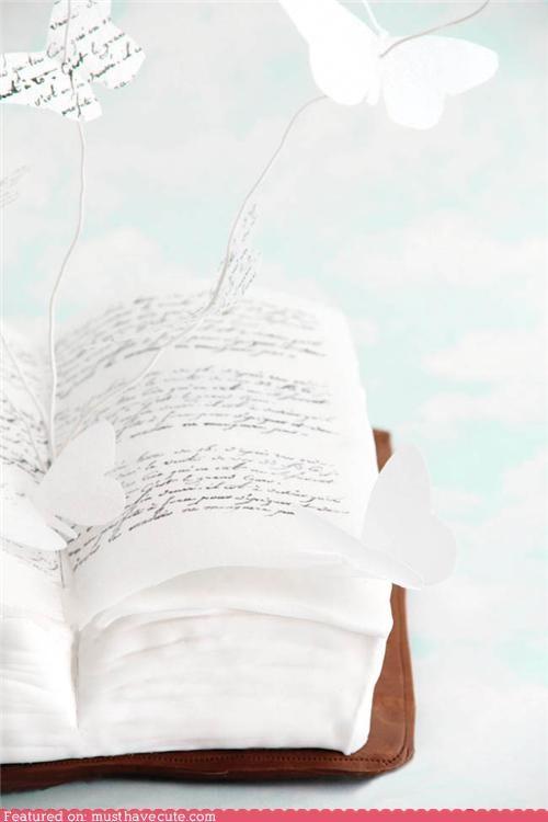 book butterflies cake epicute fondant - 5216733952