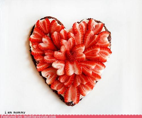 brownie epicute heart strawberries - 5216768000