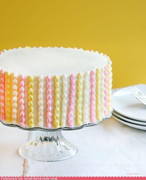 cake epicute stripes subtle