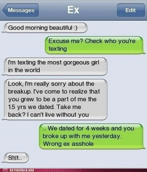 breaking up cheating ex mistext text We Are Dating - 5217439232