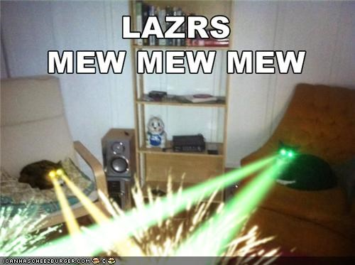 animals,Cats,I Can Has Cheezburger,lasers,pew pew pew,photoshopped
