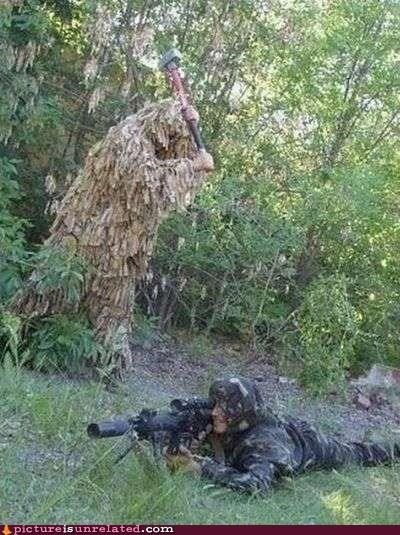 best of week,ghillie suit,hammer,sniper,wtf