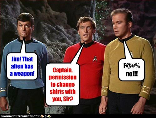 actor celeb DeForest Kelley funny Hall of Fame sci fi Shatnerday Star Trek TV William Shatner - 5217926912