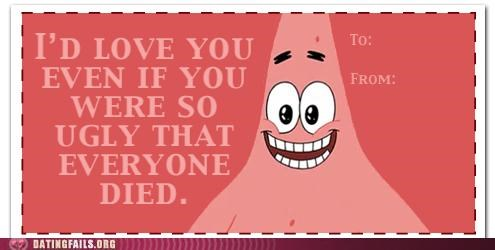 card,patrick star,SpongeBob SquarePants,valentine,We Are Dating