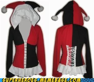 best of week,clothes,coat,Harley Quinn,hoody,Random Heroics