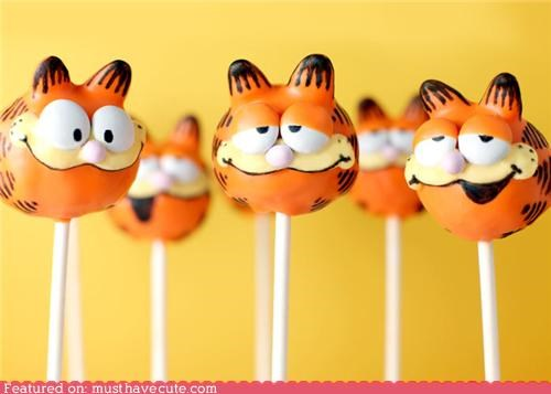 cake cake balls epicute garfield pops stick - 5218100736