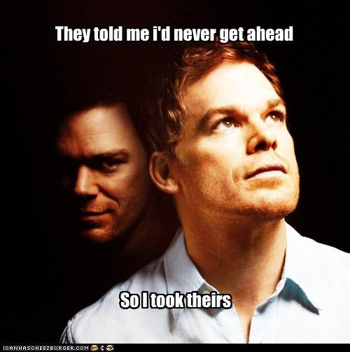 ahead decapitation Dexter heads michael c hall puns roflrazzi they told me