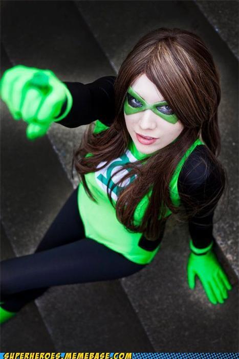 costume Green lantern sector Sexy Ladies Super Costume - 5218251264