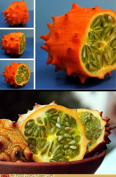 english tomato,fruit,horned melon,jelly melon,kiwano,spiky