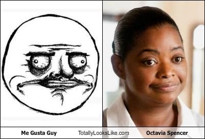 actress actresses me gusta meme meme faces memebase octavia spencer rage faces