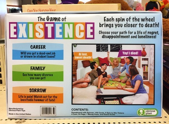 game life cards existence funny - 5218565