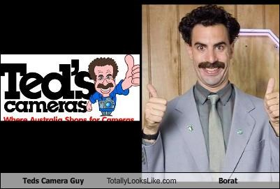 Teds Camera Guy Totally Looks Like Borat