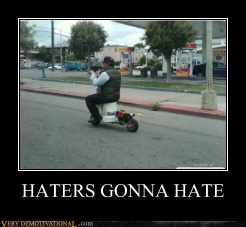 bike haters gonna hate hilarious wtf - 5218805248