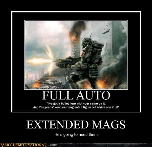 exteneded mag Pure Awesome video games - 5218912512