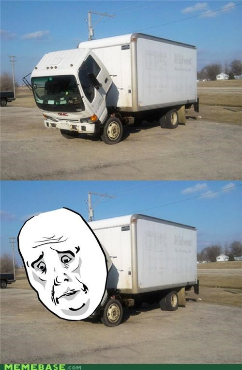 face,Okay,pictures,Sad,Sad Truck,truck