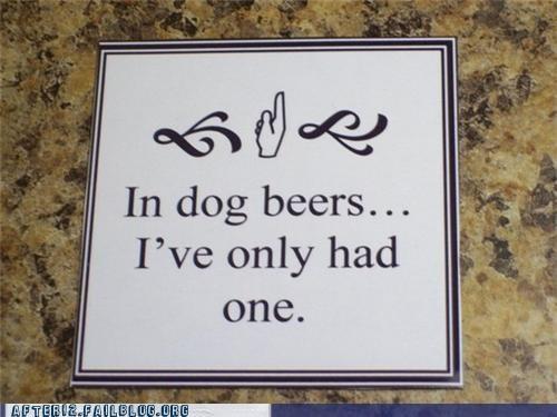 beer dog years math science - 5219047424