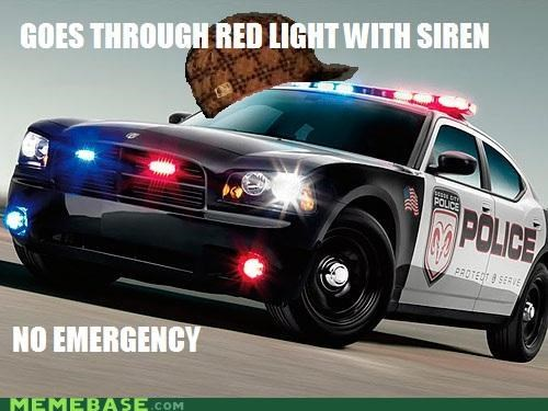 cops emergency Memes police red light siren - 5219145472