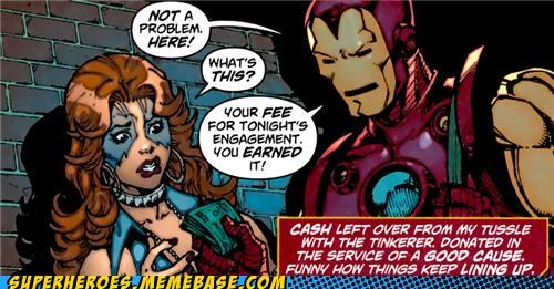 bizarre iron man Ladies of the Evening Straight off the Page wtf - 5219227904