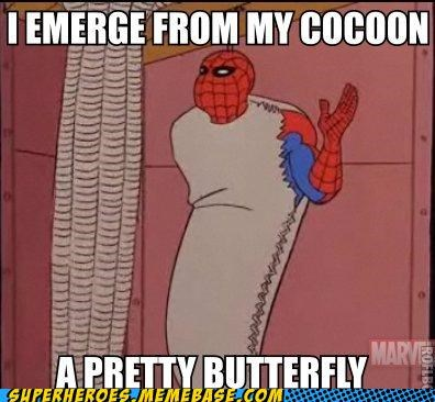 butterfly cocoon Spider-Man Super-Lols - 5219290624
