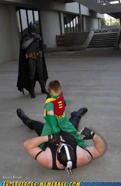 bane,batman,costume,kid,robin,Super Costume