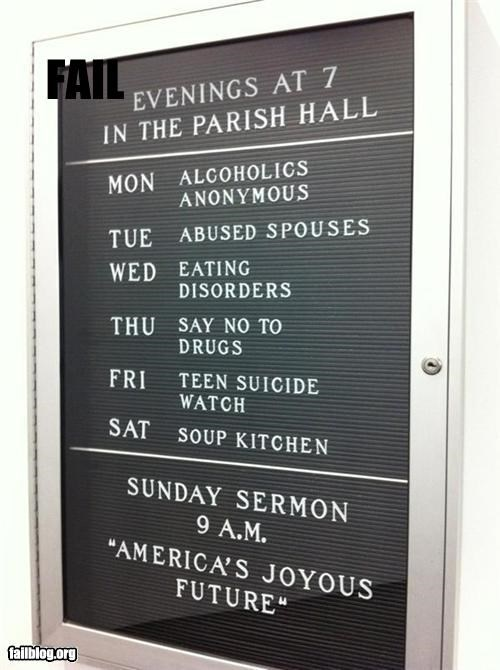 church,classic,failboat,g rated,juxtaposition,pessimism,signs