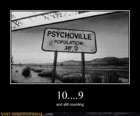 10 9 counting hilarious psychoville sign - 5219610112