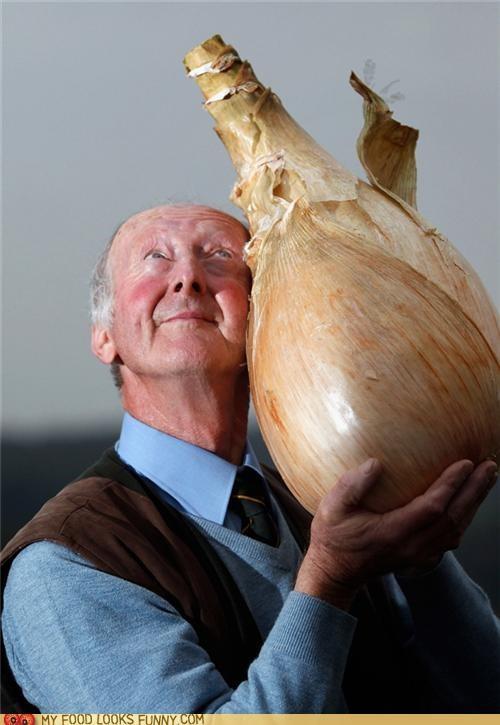 best of the week famer giant onion proud