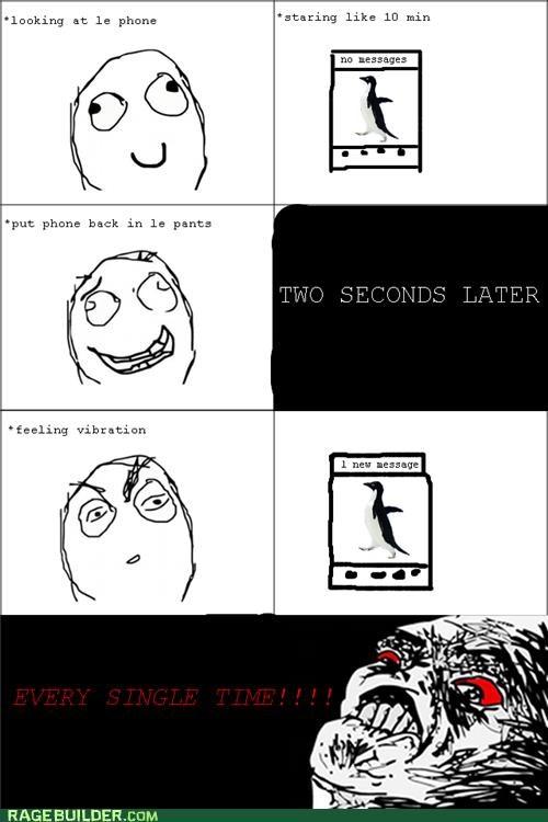 Awkward,phone,Rage Comics,vibrate