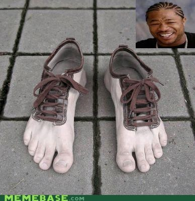 feet,laces,meta,shoes,yo dawg