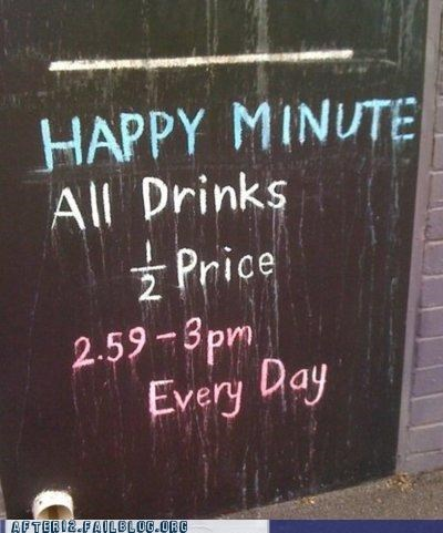bar happy hour minute shut up and take my money sign - 5219744256