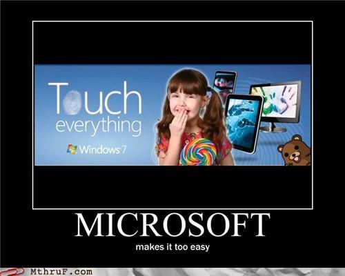 Ad microsoft pedobear touching windows - 5219781632