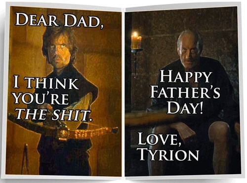 fathers day,Game of Thrones,cards,dad,season 5