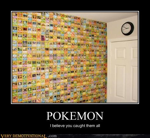 cards Hall of Fame hilarious Pokémon wall wtf
