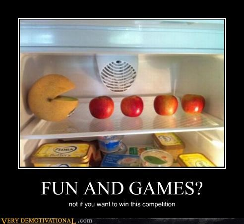 apples,food,hilarious,pac man
