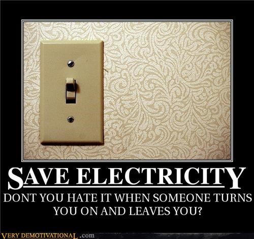 electricity hilarious light switch